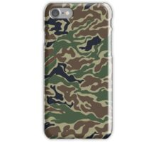 Woodland Camo Pattern iPhone Case/Skin