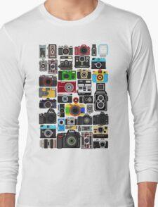 Pixelated Camerass Long Sleeve T-Shirt