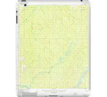 USGS TOPO Map Alaska AK Nulato B-2 358139 1952 63360 iPad Case/Skin