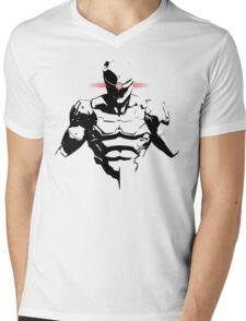 Cyborg Ninja Mens V-Neck T-Shirt