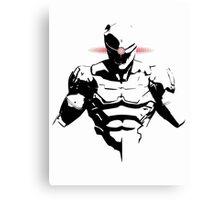 Cyborg Ninja Canvas Print