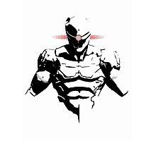 Cyborg Ninja Photographic Print