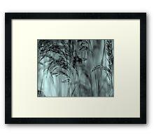 Whispering Reeds  - JUSTART © Framed Print