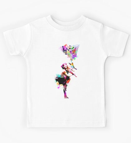 A Bird And The Violinist Kids Tee