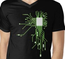 Circuitry Mens V-Neck T-Shirt