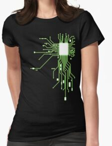 Circuitry Womens Fitted T-Shirt