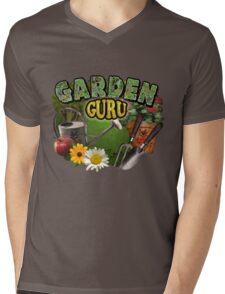 Garden Guru Mens V-Neck T-Shirt