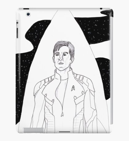 Captain kirk iPad Case/Skin