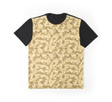 Yellow Desert Camo Graphic T-Shirt
