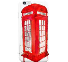 Telephone Booth 578 iPhone Case/Skin