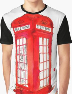 Telephone Booth 578 Graphic T-Shirt