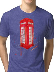 Telephone Booth 578 Tri-blend T-Shirt