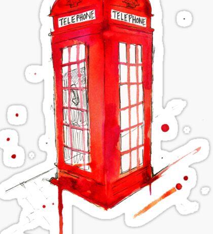 Telephone Booth 578 Sticker