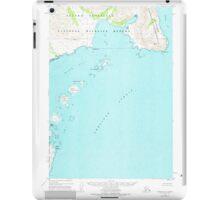 USGS TOPO Map Alaska AK Ugashik B-1 360094 1951 63360 iPad Case/Skin