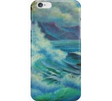 Sea Cliff Surge iPhone Case/Skin