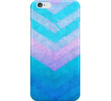 Pastel Texture Chevron iPhone Case/Skin