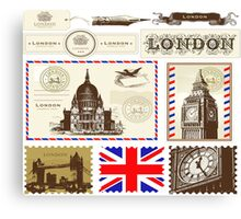 London Symbol 578 Canvas Print