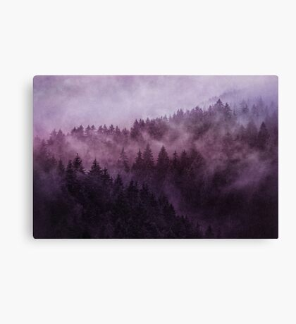 Excuse Me, I'm Lost // Laid Back Edit Canvas Print