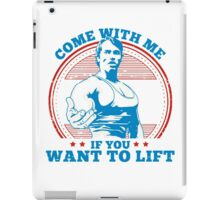 come with me iPad Case/Skin