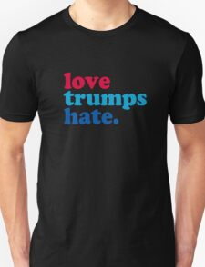 Love Trumps Hate Authentic Unisex T-Shirt