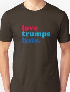 Love Trumps Hate Authentic Unisex T-Shirt