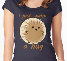 Too Prickly to Hug Women's Fitted Scoop T-Shirt