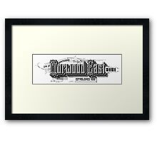Burwood East Framed Print