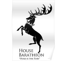 GAME OF THRONES BARATHEON Poster