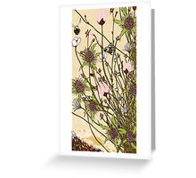 Wild Flowers Part 1 Greeting Card