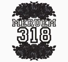 MERUEM ROSES (WHITE) One Piece - Short Sleeve