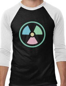 Radioactive Pastels Men's Baseball ¾ T-Shirt