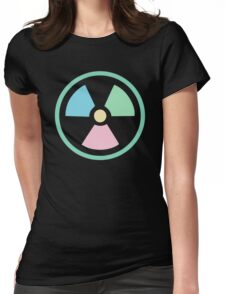 Radioactive Pastels Womens Fitted T-Shirt