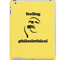 Feeling Philoslothical iPad Case/Skin