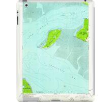 USGS TOPO Map Alaska AK Tyonek A-1 359990 1952 63360 iPad Case/Skin