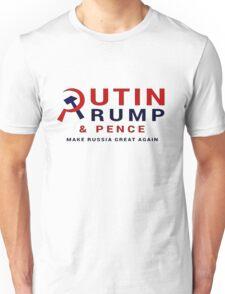 Putin Trump Pence 2016 - Make Russia Great Again Unisex T-Shirt