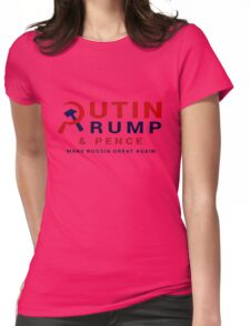 Putin Trump Pence 2016 - Make Russia Great Again Womens Fitted T-Shirt