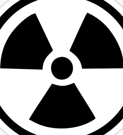 Radioactive Sticker