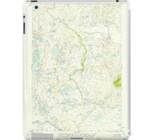USGS TOPO Map Alaska AK Naknek B-2 357984 1952 63360 iPad Case/Skin