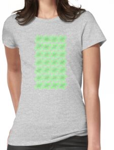 Four-Leaf Clovers Womens Fitted T-Shirt