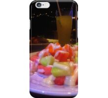 Fruit salad in the night iPhone Case/Skin