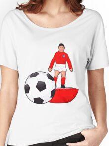 Retro England 66 Subbuteo Women's Relaxed Fit T-Shirt