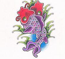 Fukushima Fish by Leighmen