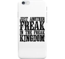 Hunter Thompson Quote Freaks Fear And Loathing In Las Vegas iPhone Case/Skin
