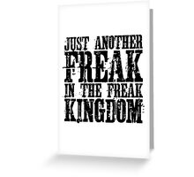 Hunter Thompson Quote Freaks Fear And Loathing In Las Vegas Greeting Card