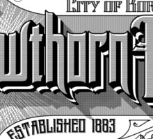 Hawthorn East Sticker