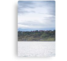 View from the sea Canvas Print