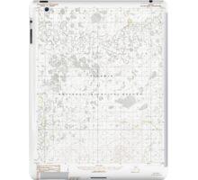 USGS TOPO Map Alaska AK Shungnak B-6 359046 1985 63360 iPad Case/Skin