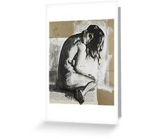 Feeling Exposed Greeting Card
