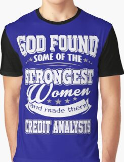 JOB - The Strongest Women - Credit Analysts T - shirt - Special design Graphic T-Shirt