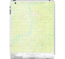 USGS TOPO Map Alaska AK Ruby B-4 358590 1952 63360 iPad Case/Skin
